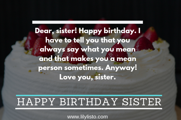 Sister Birthday Funny_happy bday sis pic