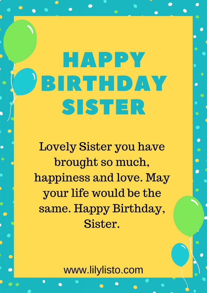lovely prayer and blessing for sista birthday
