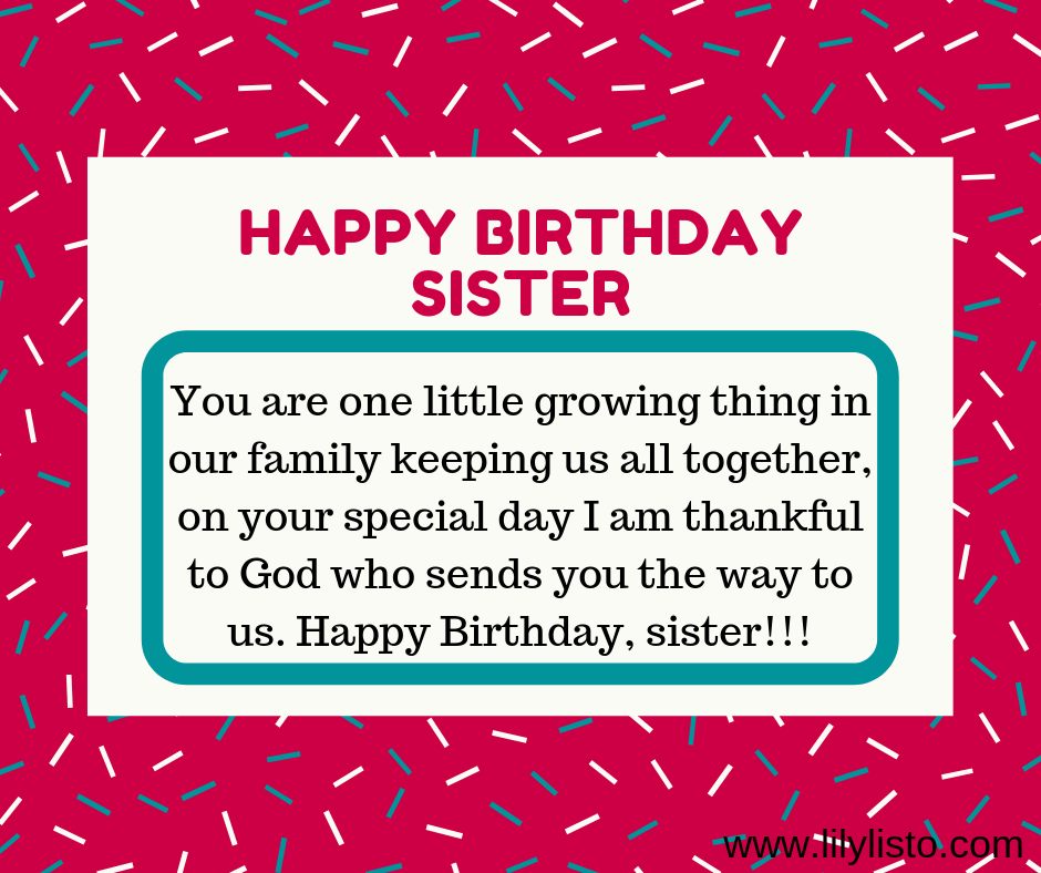 Surprising Multiple Cute Birthday Wishes Quotes And Messages For Sister Funny Birthday Cards Online Sheoxdamsfinfo
