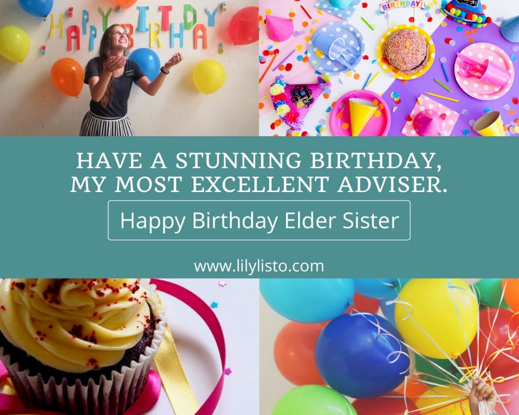 Happy Birthday Elder sister