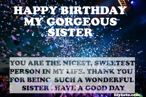 birthday images for sister