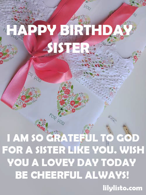 happy birthday sister image hd