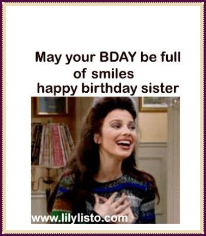 funny little sister birthday meme