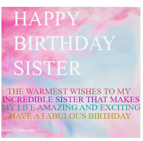 happy birthday little sister images