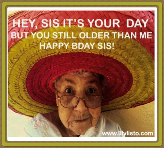 sister birthday meme for facebook