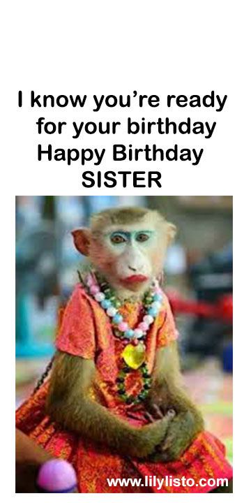 funny money image for sister birthday with meme