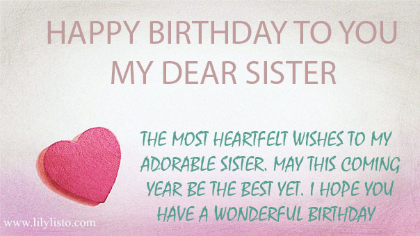 happy birthday sister images facebook