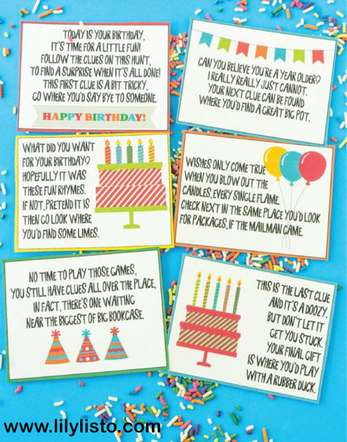 Riddles ideas for sister birthday