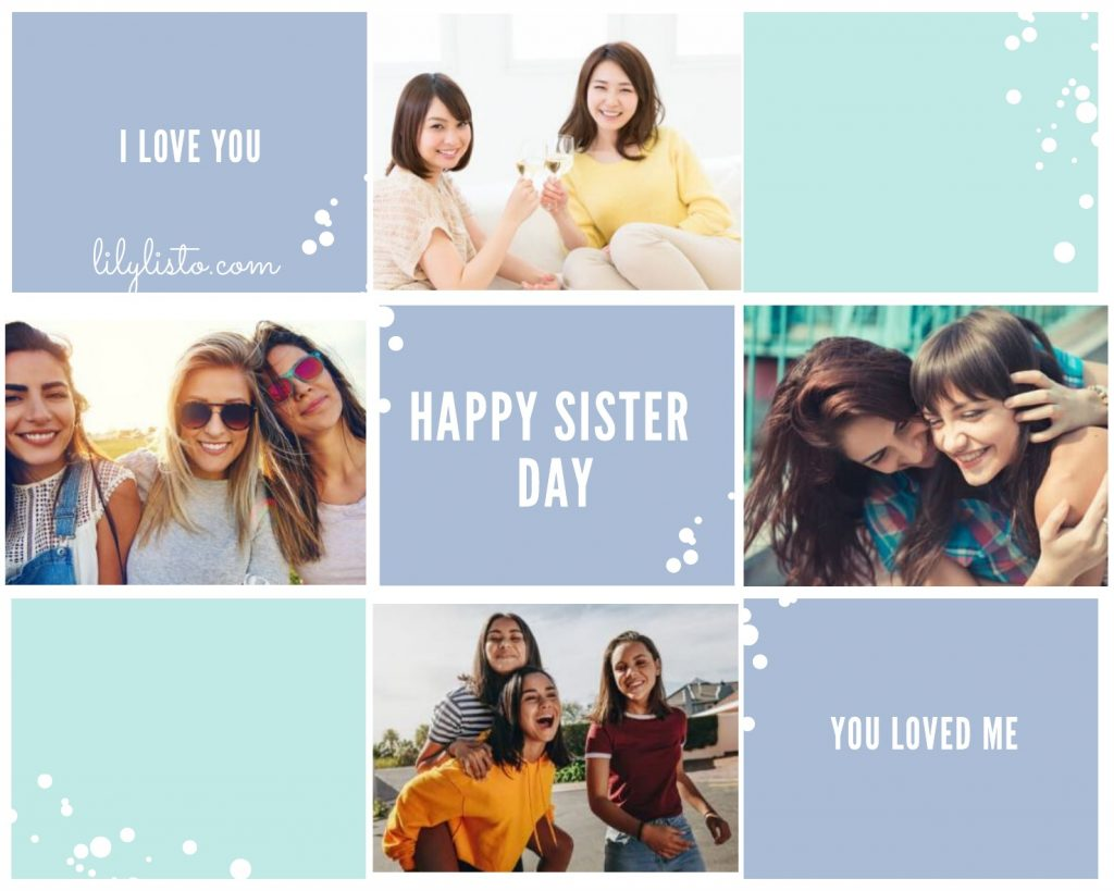 Sister's Day images