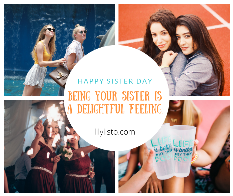Sister's Day Status images 2020