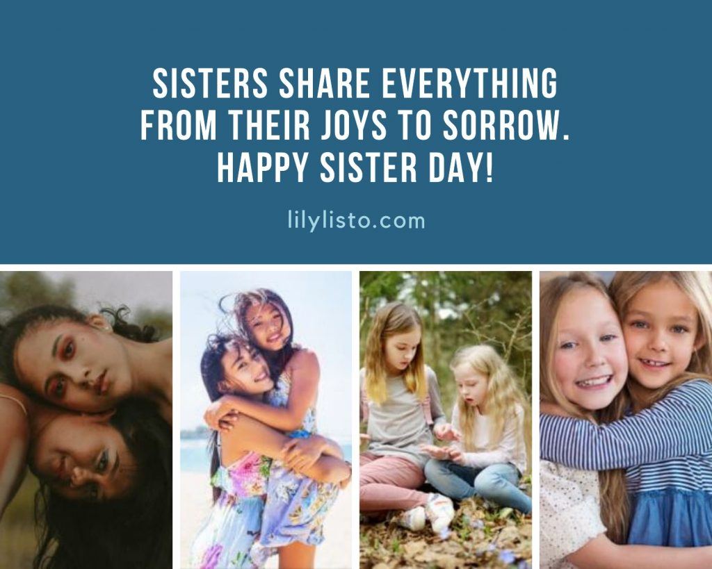 National Sister's Day Quotes