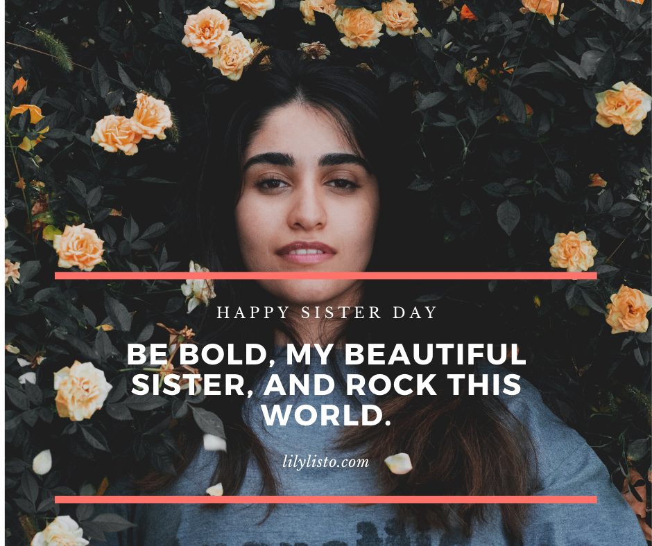 Sister's Day quotes