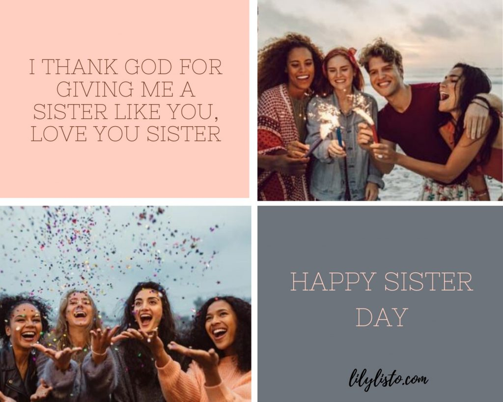 Sister's Day 2020 images