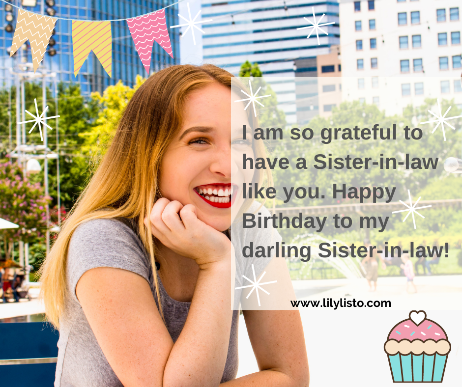 birthday wishes quotes for sister in law