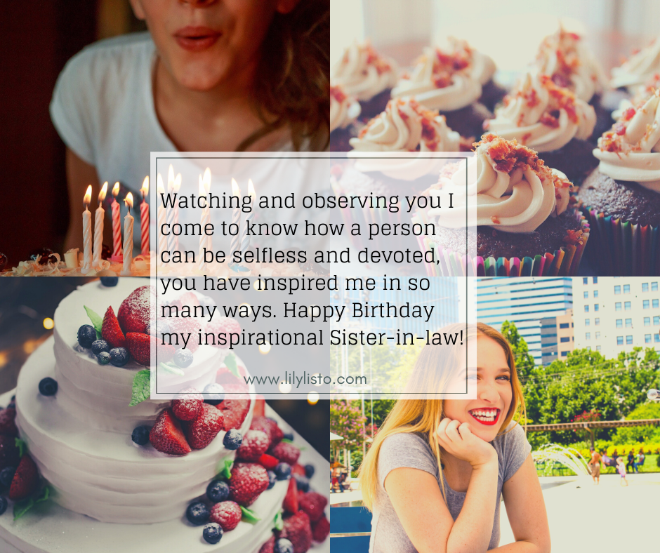 happy birthday wishes for sister in law quotes