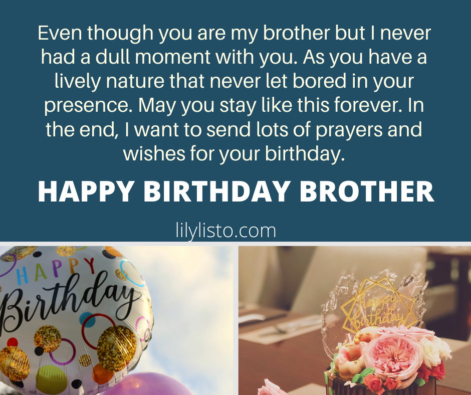 best wishes for brother birthday