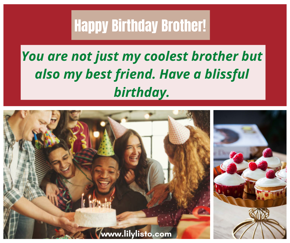 birthday fb status for brother