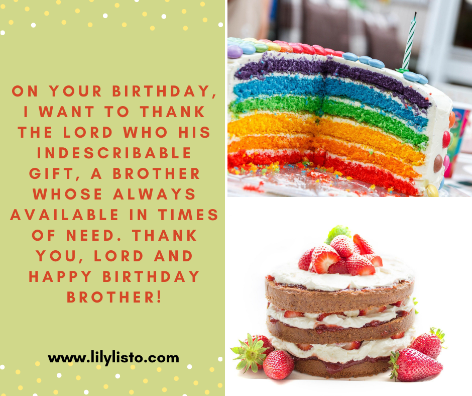 birthday prayers for my younger brother
