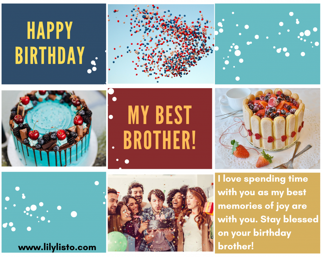 birthday short quotes for brother
