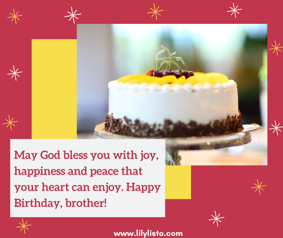 birthday wishes and prayers for my elder brother