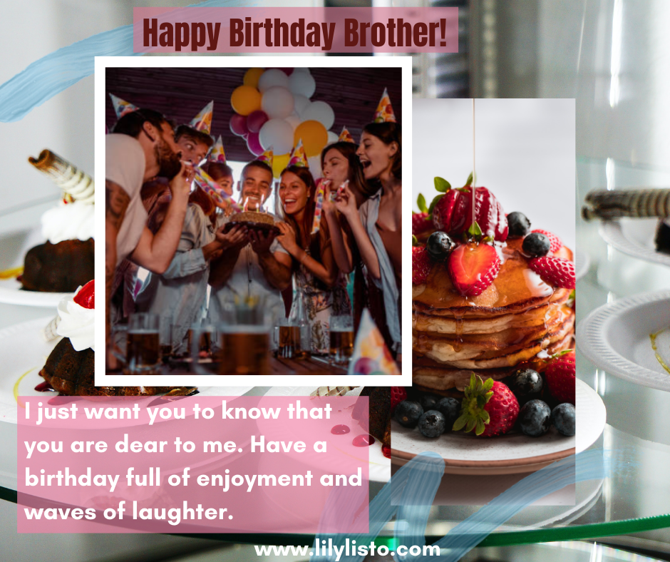birthday wishes status for brother