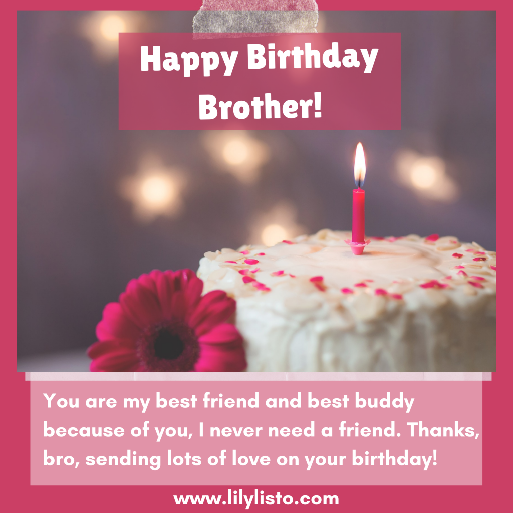 emotional birthday wishes for younger brother