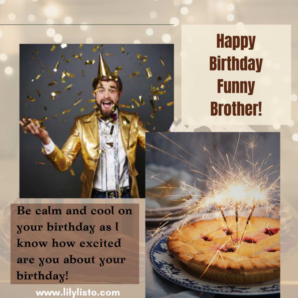 laughable happy birthday messages for bro on facebook