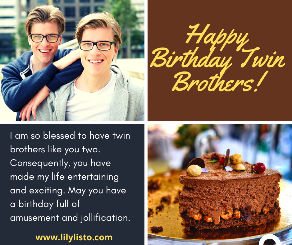 best bday image for my twin bro
