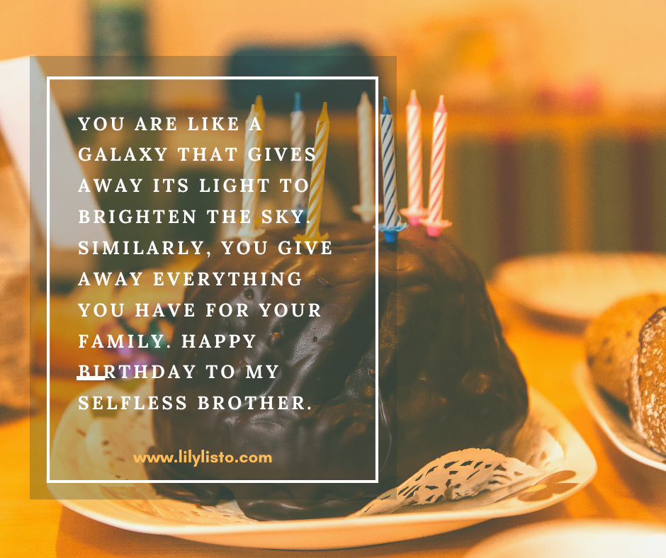 lovely messages for elder bro bday images